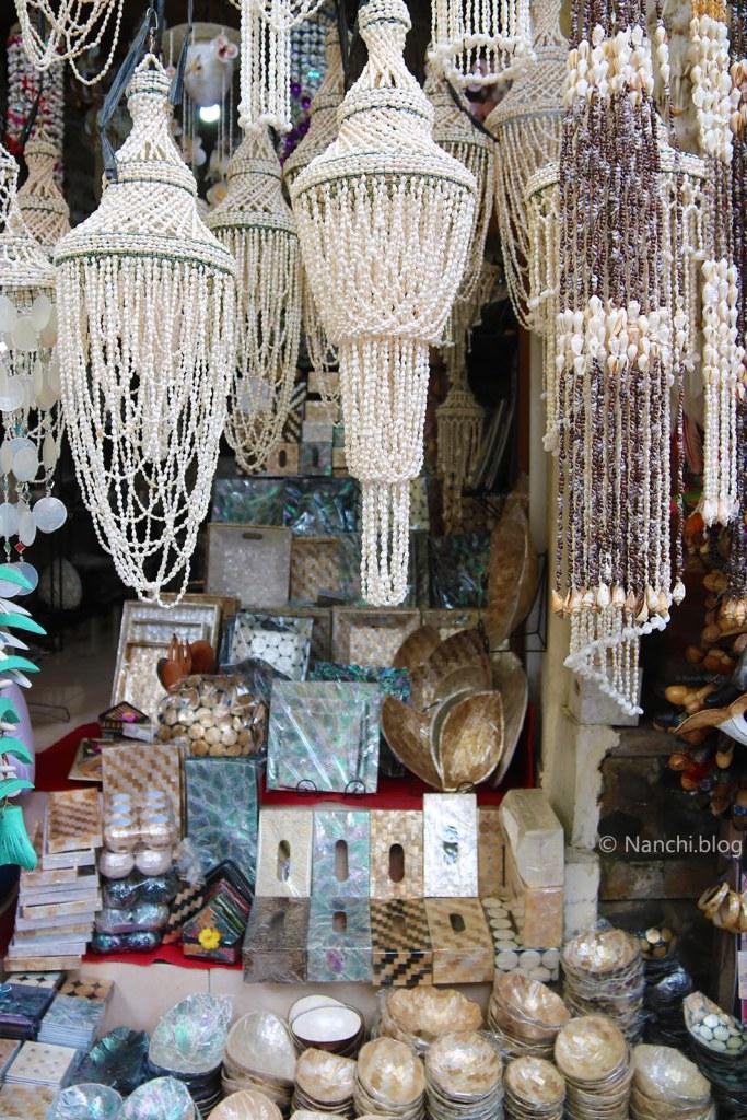 Chandeliers, Ubud Market, Ubud, Bali, Indonesia