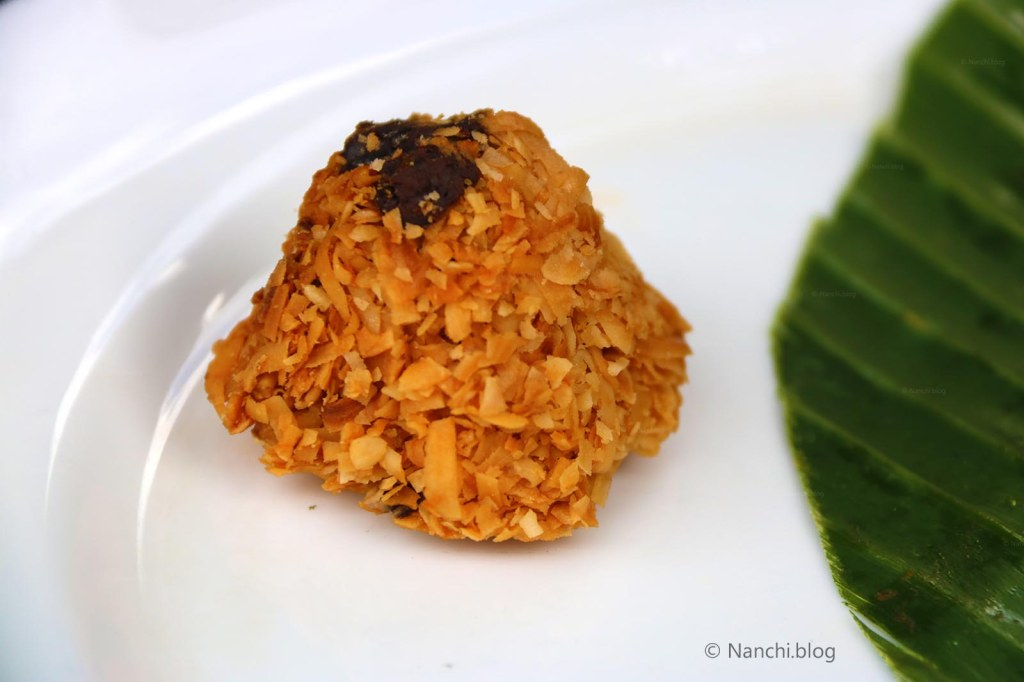 Coconut Macaroon, Yellow Flower Cafe, Ubud, Bali
