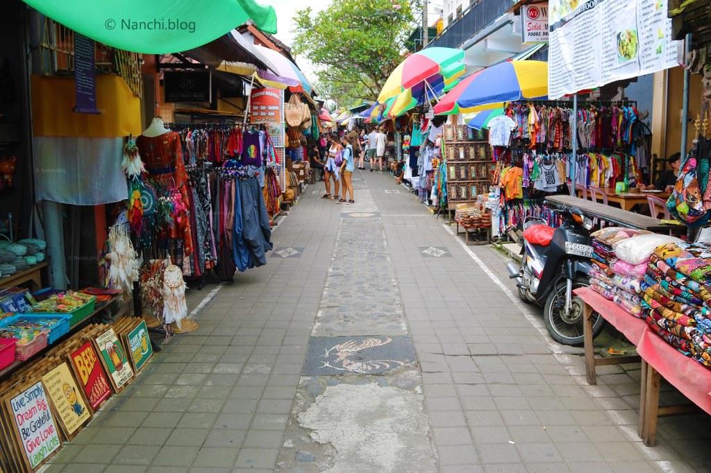 Empty Streets, Ubud Market, Ubud, Bali, Indonesia