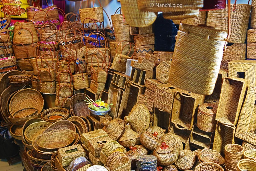 Handmade products, Ubud Market, Ubud, Bali, Indonesia