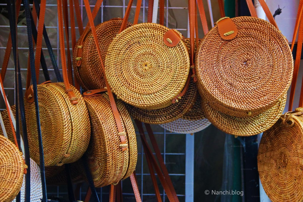 Roundie Bags, Ubud Market, Ubud, Bali, Indonesia
