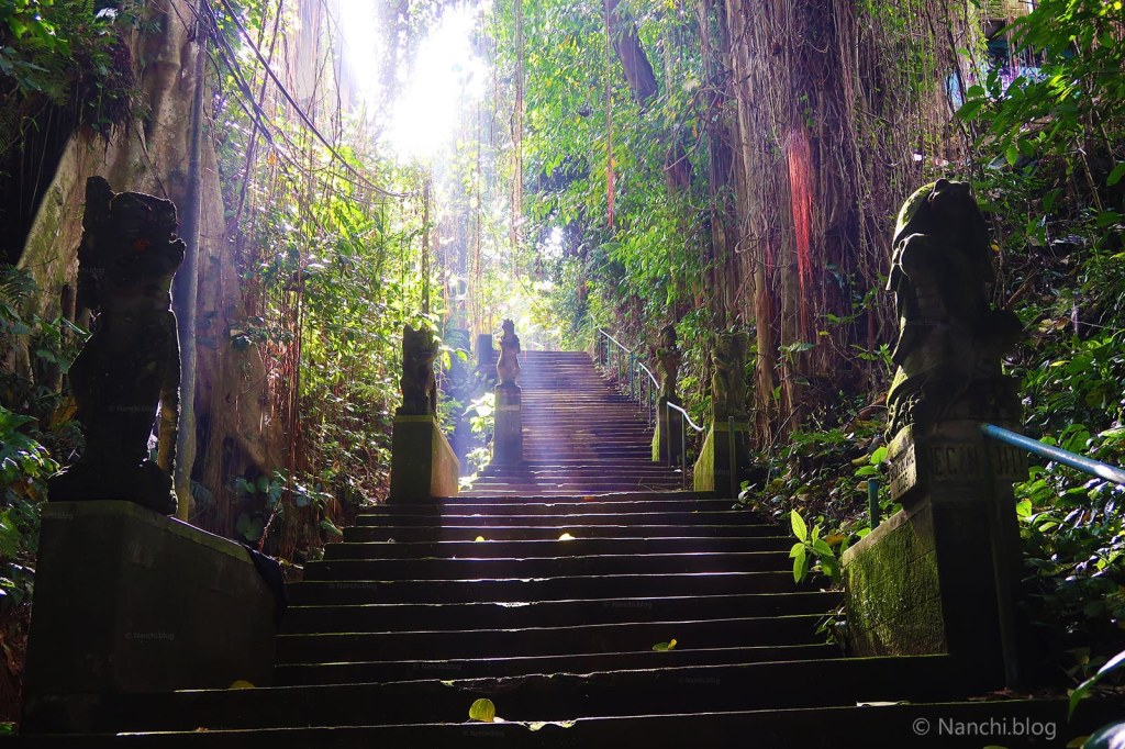 Stairs to Yellow Flower Cafe, Ubud, Bali