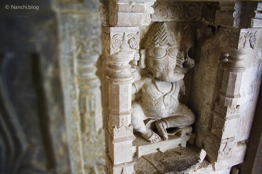 Bhangarh, Ganesha Idol, Bhangarh Fort, Jaipur, Rajasthan
