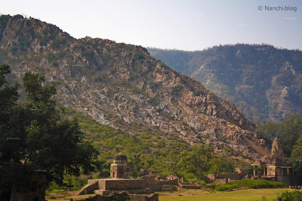 Bhangarh Hill, Bhangarh Fort, Jaipur, Rajasthan