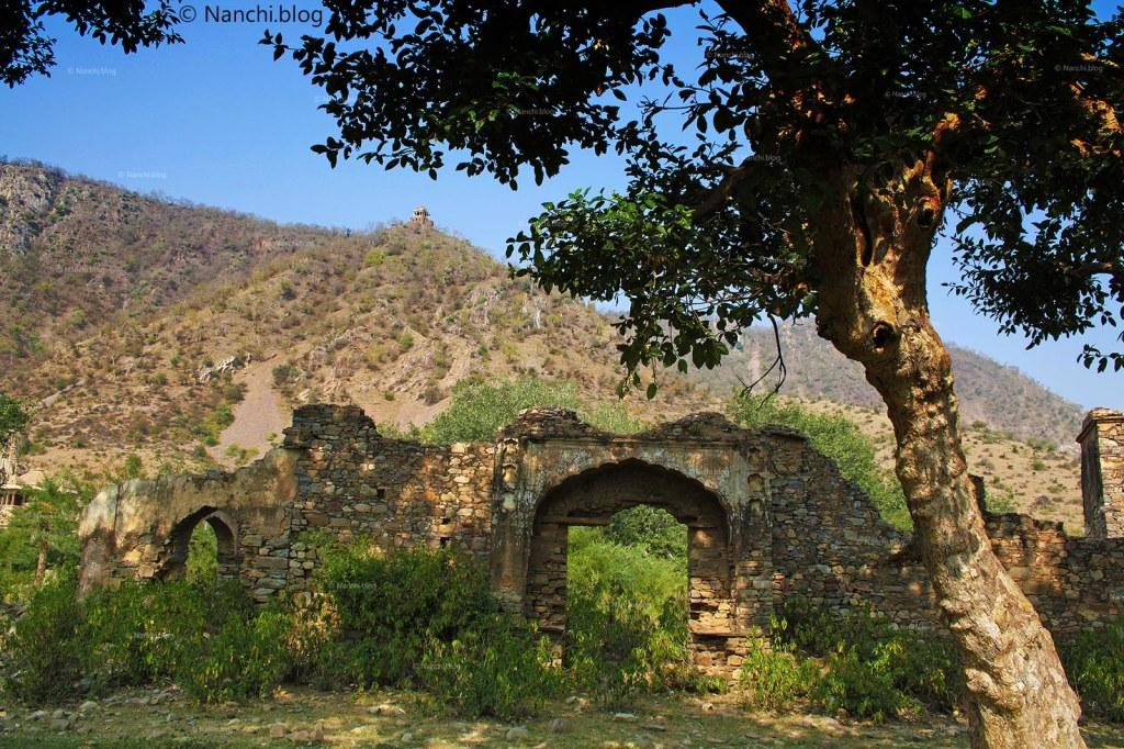 Bhangarh, Landscape view, Bhangarh Fort, Jaipur, Rajasthan