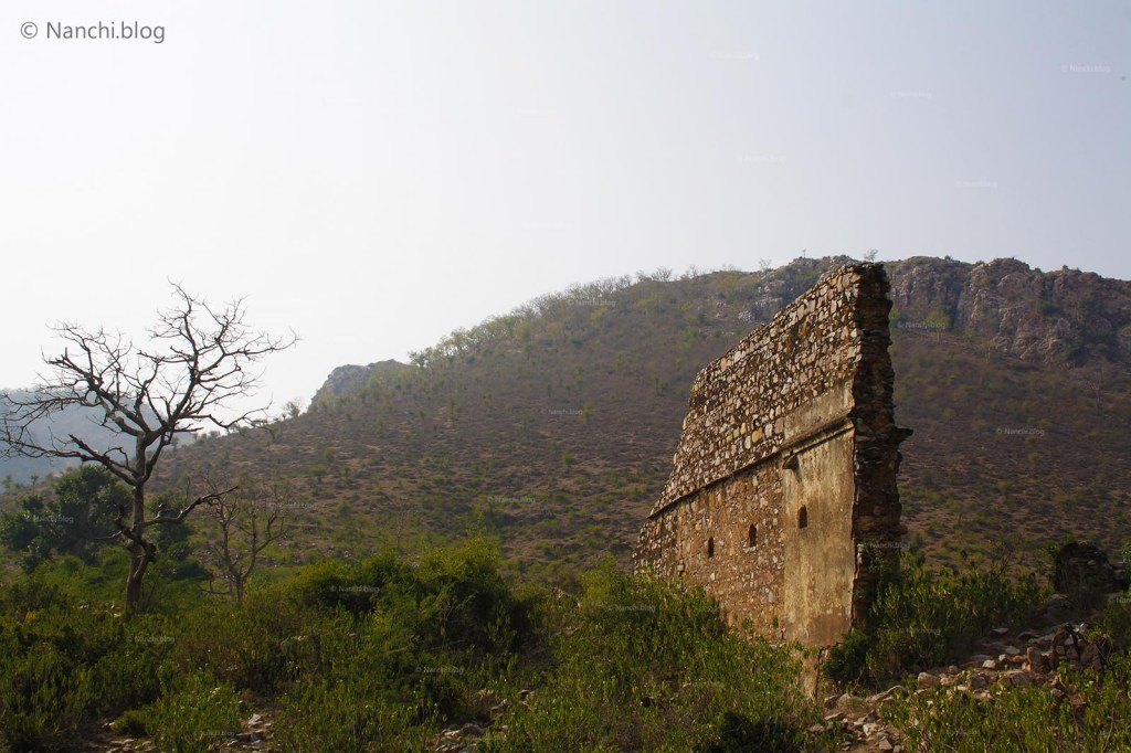 Bhangarh, Old Wall standing, Bhangarh Fort, Jaipur, Rajasthan