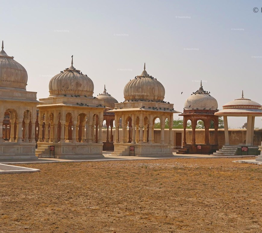 Chhatris or Cenotaphs, The Royal Cenotaphs, Bikaner