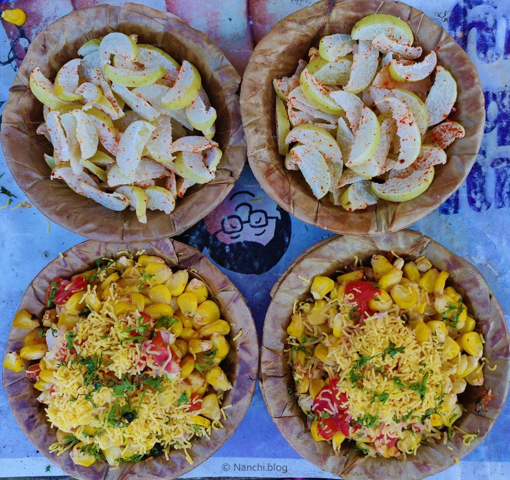 Corn Bhel and Amla, Sinhagad Fort, Pune