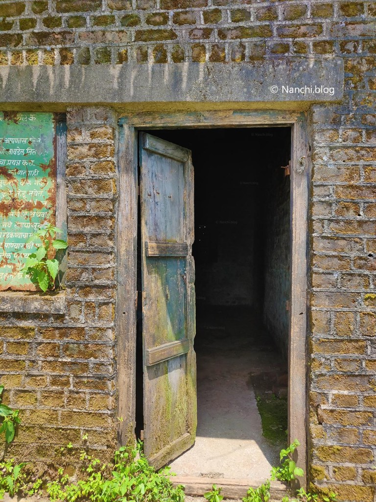 Door to Abandoned House, Sinhagad Fort, Pune