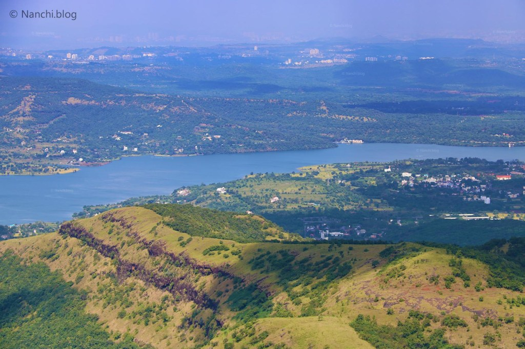 Khadakwasla Dam view from Sinhagad Fort, Pune