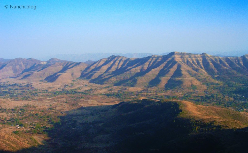 Layered Mountain, Sinhagad Fort, Pune