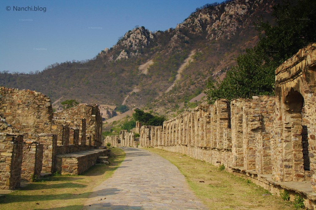 Market Ruins, Bhangarh Fort, Jaipur, Rajasthan