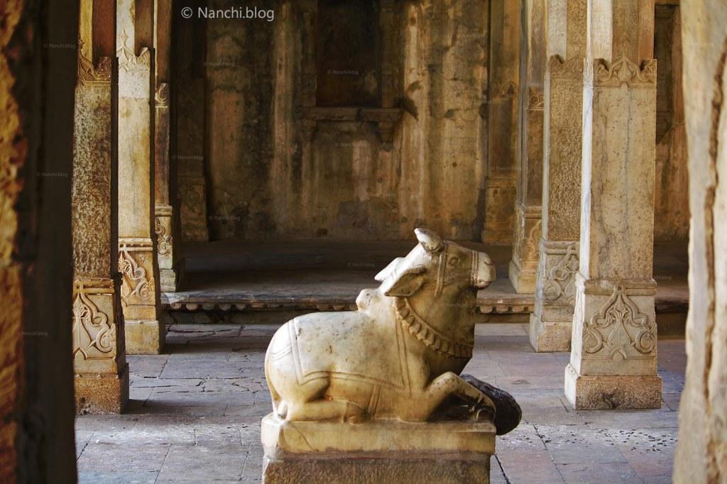 Nandi, Bhangarh Fort, Jaipur, Rajasthan