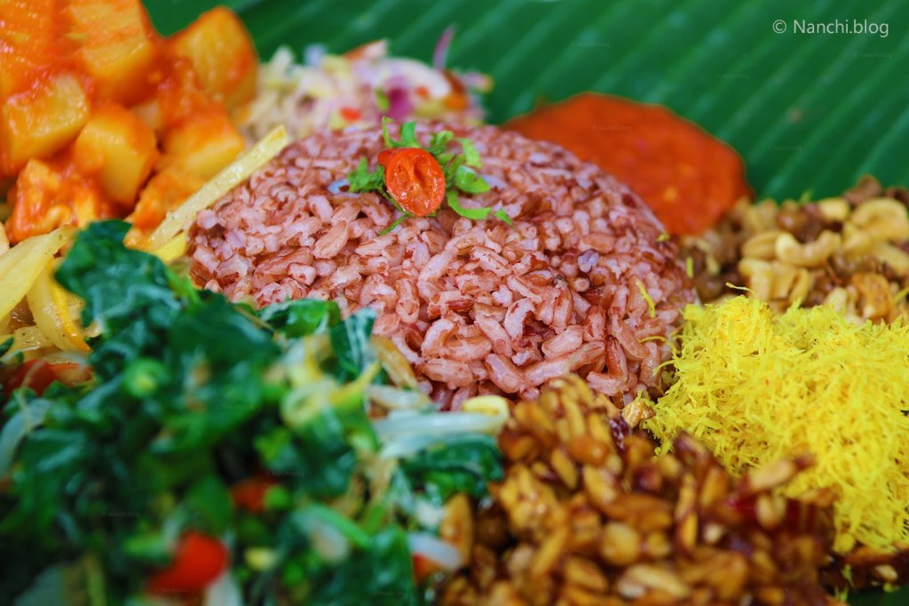 Nasi Camphur Campuhan, Close-up, Yellow Flower Cafe, Ubud, Bali