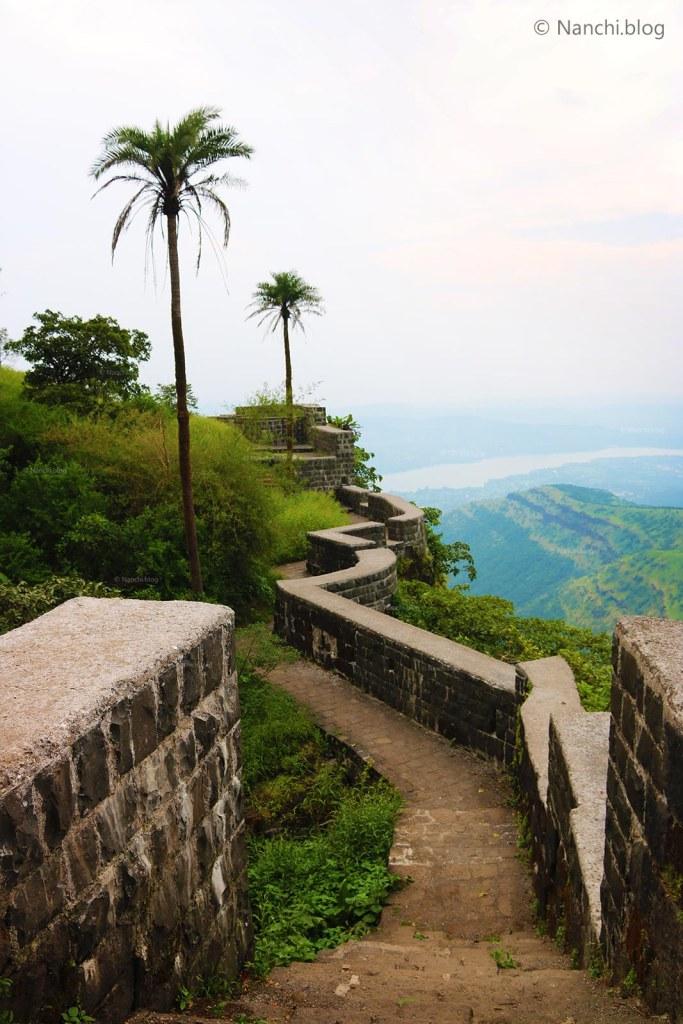 Pathway to Topkhana, Sinhagad Fort, Pune