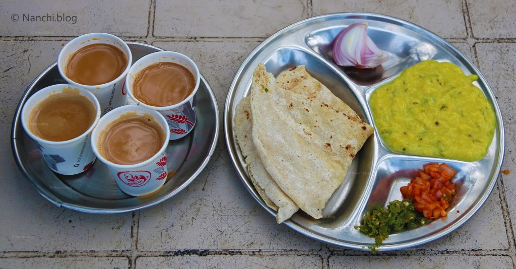 Pithala Bhakri and Chai, Sinhagad Fort, Pune