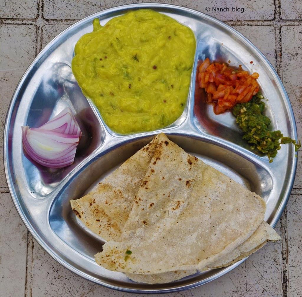 Pithla Bhakri Thali, Sinhagad Fort, Pune, Maharashtra