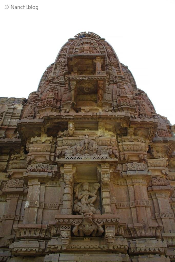 Temple Exterior, Bhangarh Fort, Jaipur, Rajasthan