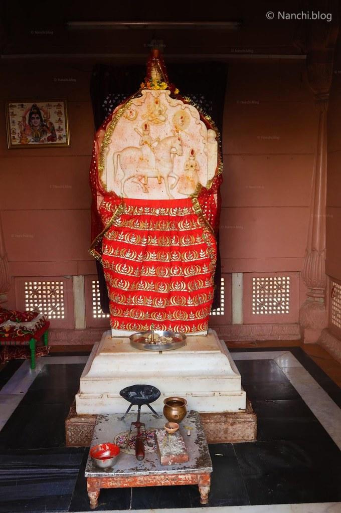 Temple Goddess, The Royal Cenotaphs, Devikund Sagar, Bikaner