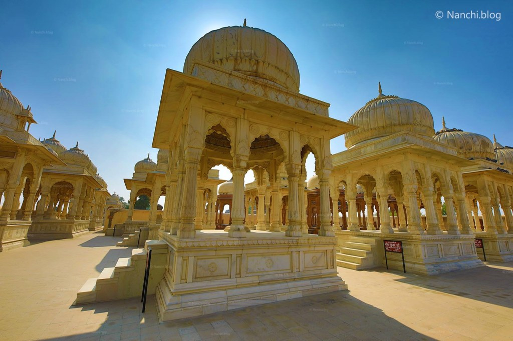 The Royal Cenotaphs, Devikund Sagar, Bikaner