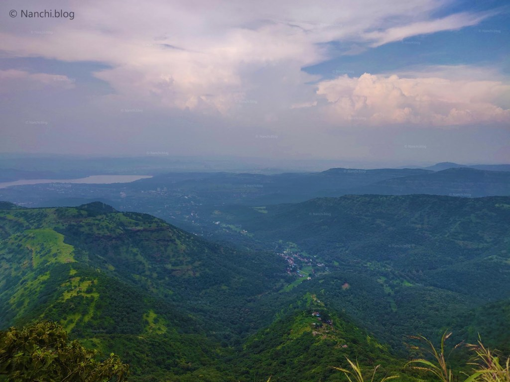 View of Khadakwasla from Sinhagad Fort, Pune