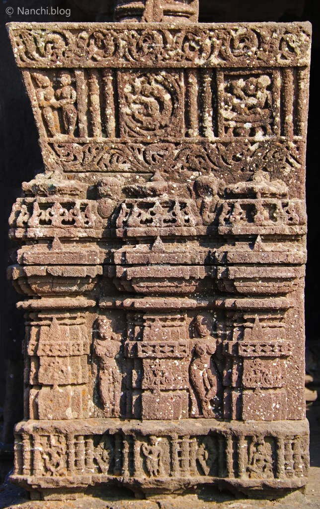 Carvings, Gondeshwar Temple, Sinnar