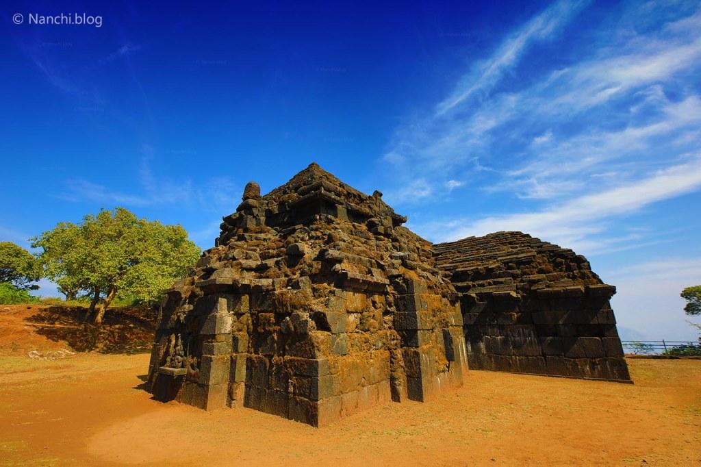 Exterior of Krishnabai Temple of Lord Shiva in Old Mahabaleshwar