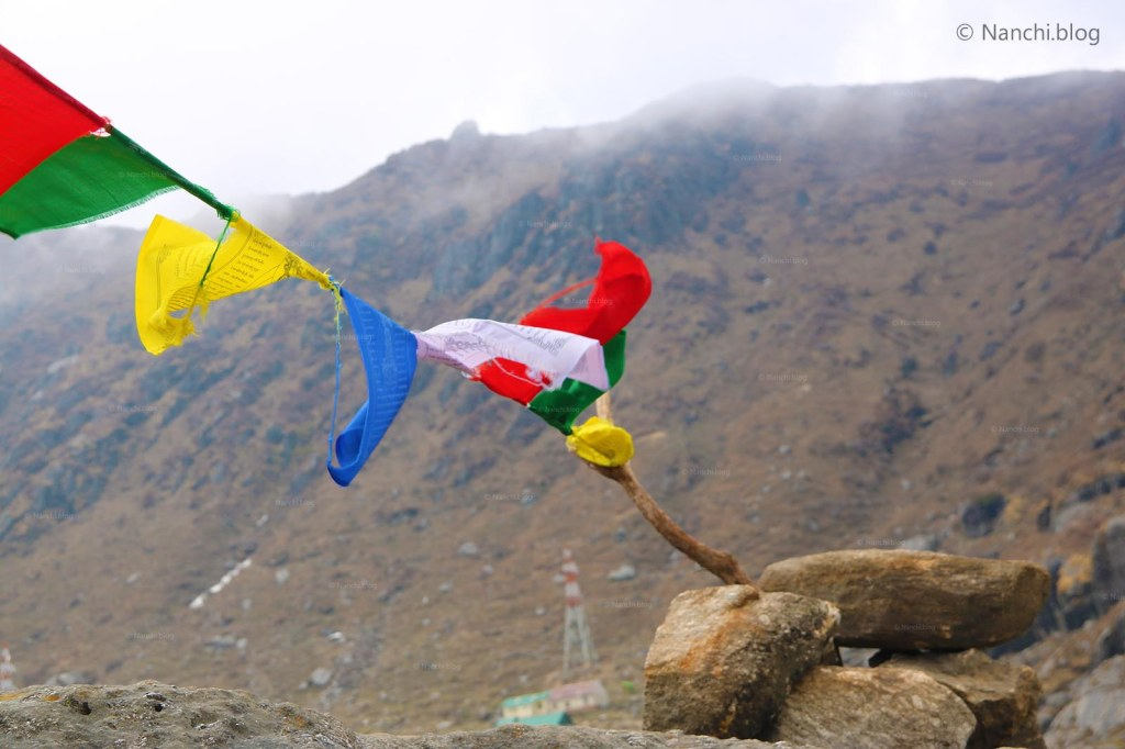 Prayer Flags, Tsomgo Lake, Changu Lake, Sikkim