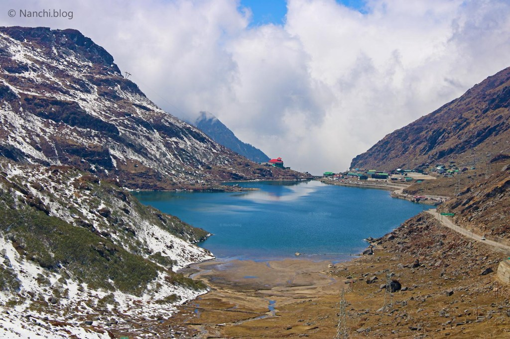 Tsomgo Lake, Changu Lake from top, Sikkim