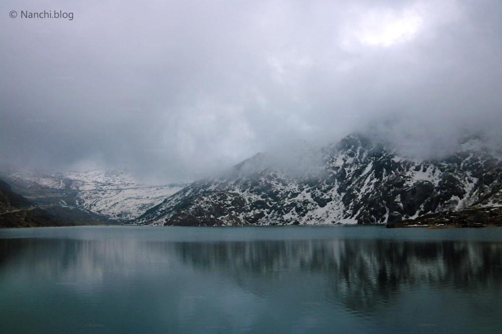 Tsomgo Lake, Changu Lake, overcast sky, Sikkim