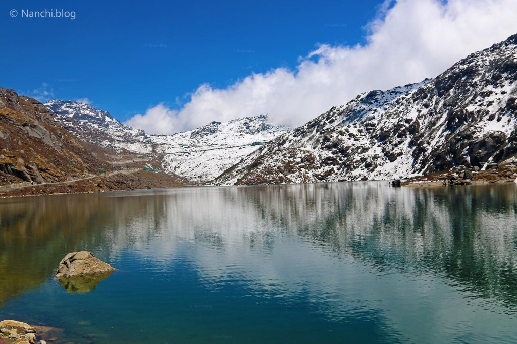 Tsomgo Lake, Changu Lake, Snow Clad Mountains and Lake, Sikkim