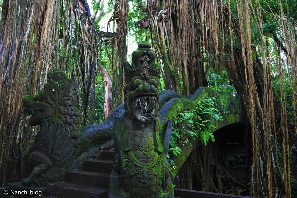 Dragon Bridge, Monkey Forest, Ubud, Bali • Nanchi's Fun Facts Friday!