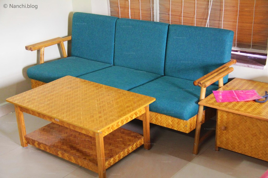 Furniture at MTDC Tadoba,Tadoba Andhari Tiger Reserve, Chandrapur