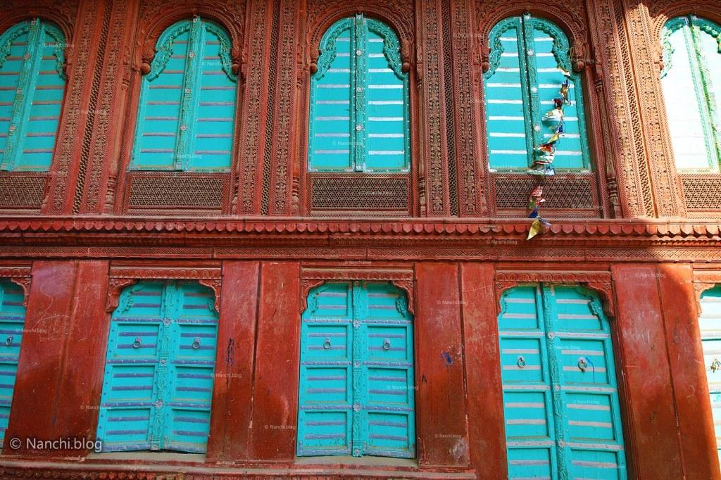 Jharokas, Rampuria Havelis, Bikaner, Rajasthan
