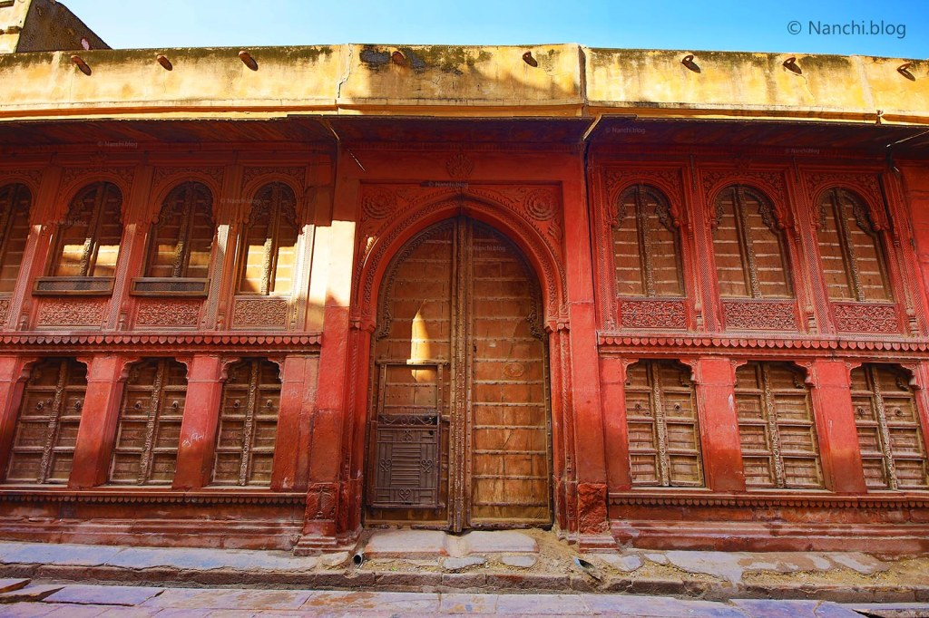 Rampuria Havelis, Side View, Bikaner, Rajasthan