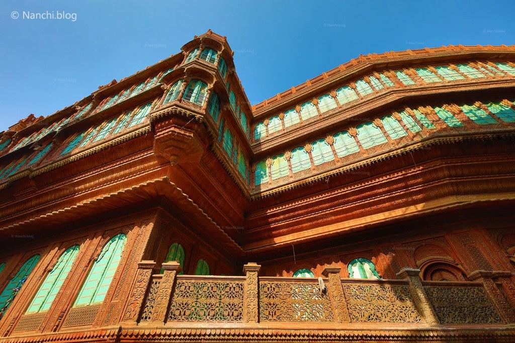 Top view, Rampuria Havelis, Bikaner, Rajasthan