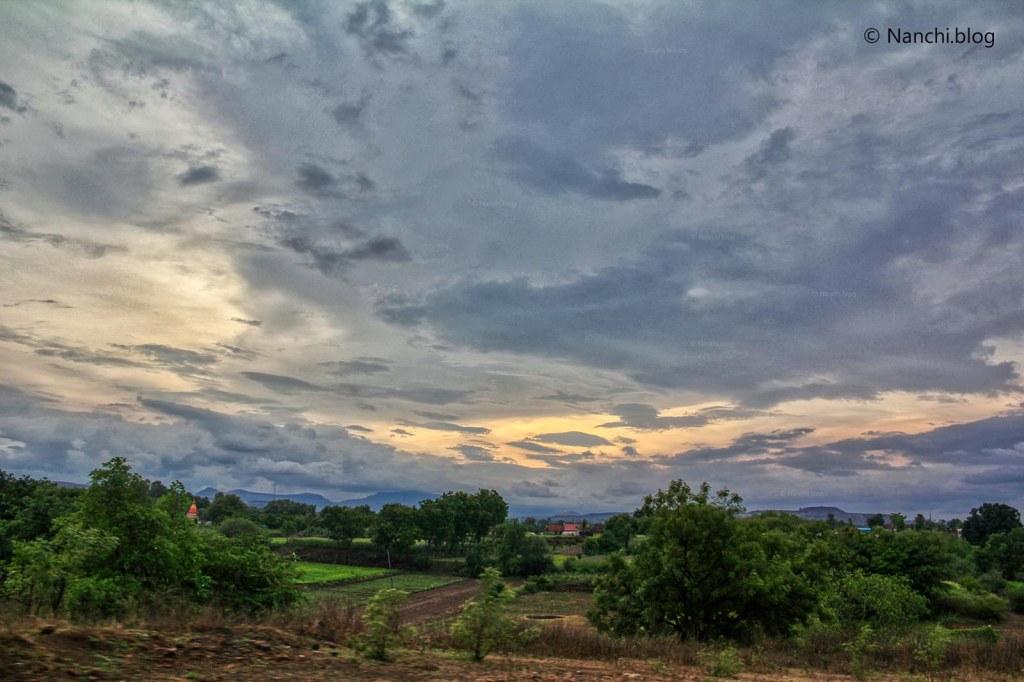 Evening, Bhorgiri, Pune, Maharashtra