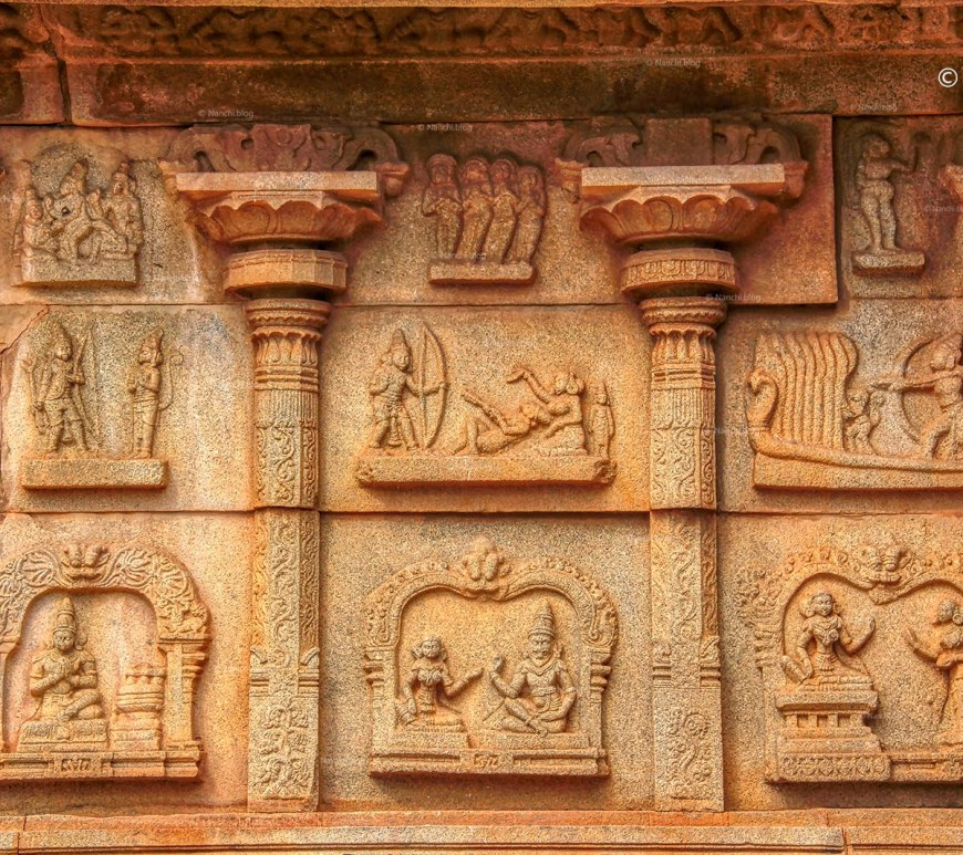 Exterior, Hazara Rama Temple, Hampi • Nanchi's Fun Facts Friday!