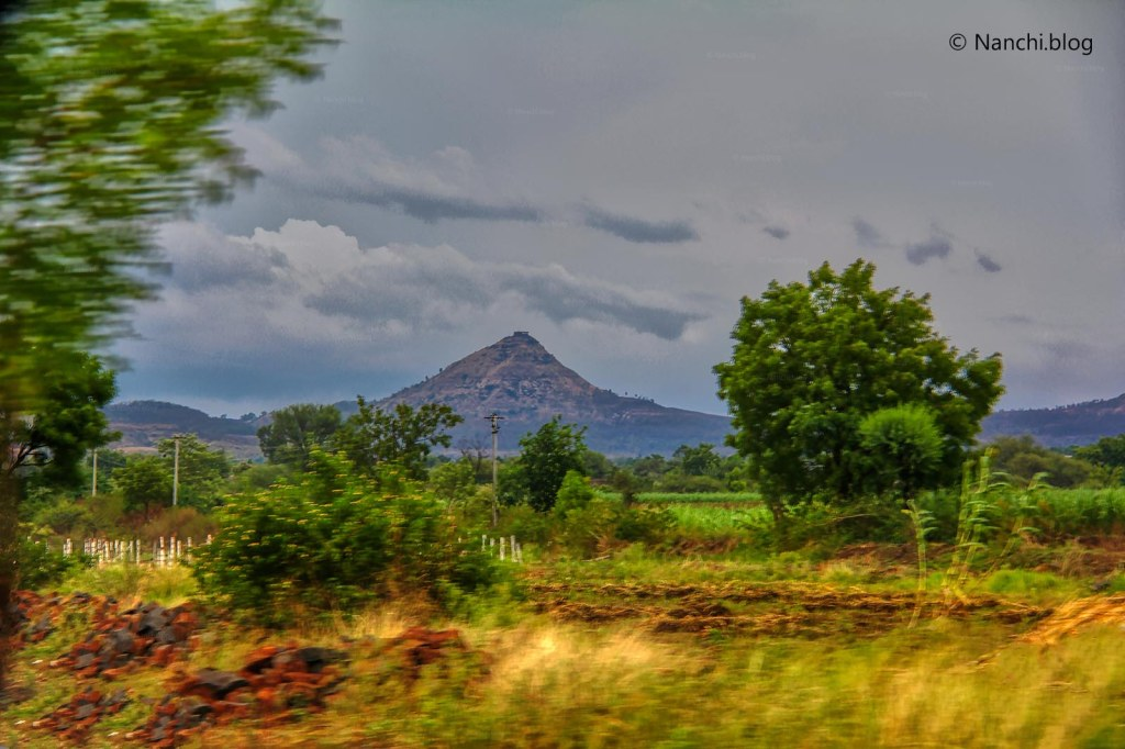 Hill on the way to Bhorgiri, Pune, Maharashtra