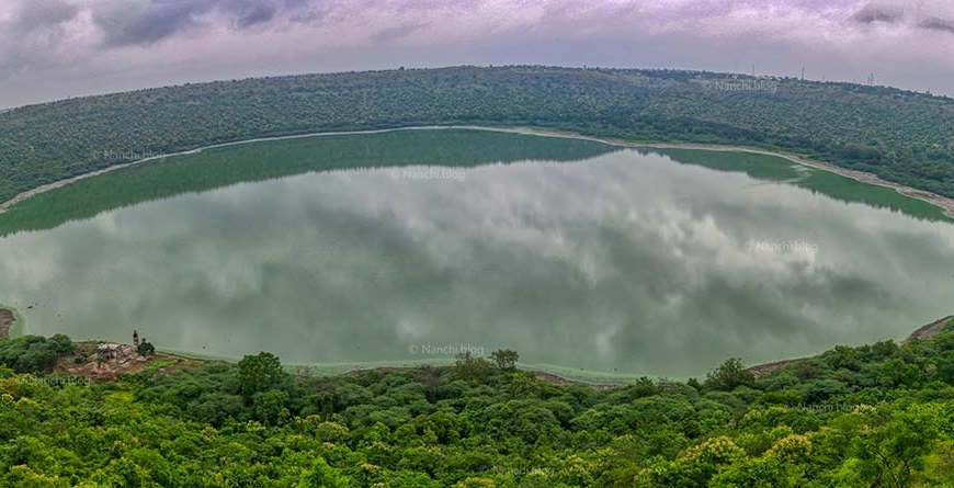 Lonar Lake Crater, Buldhana, Maharashtra