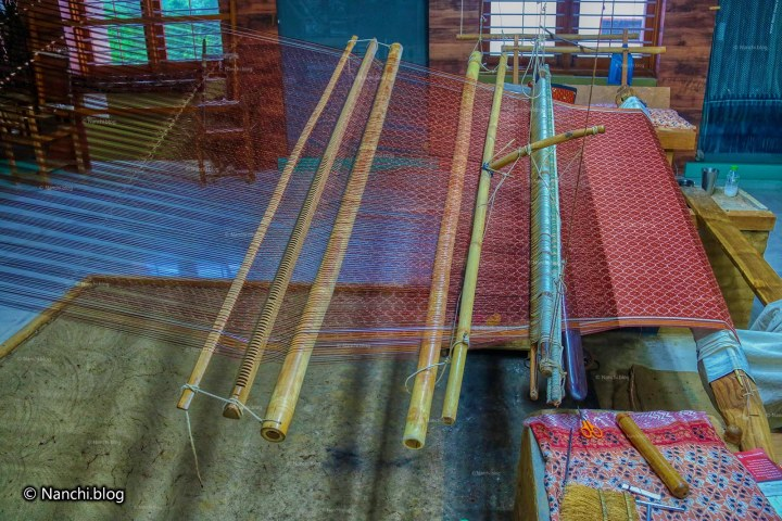 Loom, Patan Patola Saree, Patan, Gujarat • Nanchi's Fun Facts Friday!
