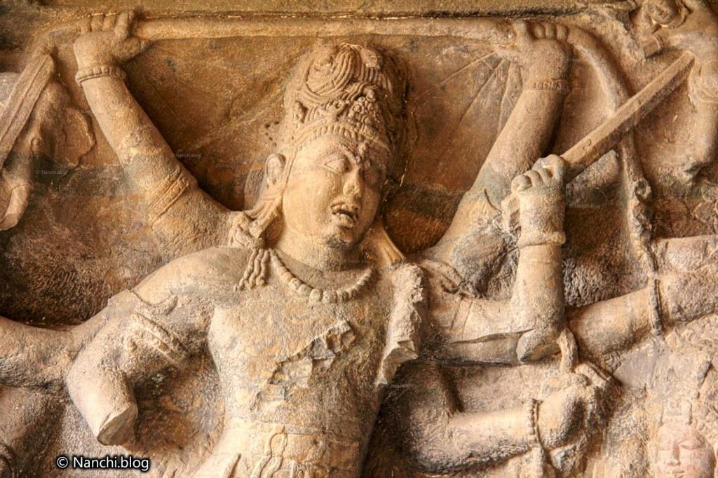 Andhakasuravadha, Cave no. 29, Dhumar Lena Caves, Ellora Caves, Aurangabad