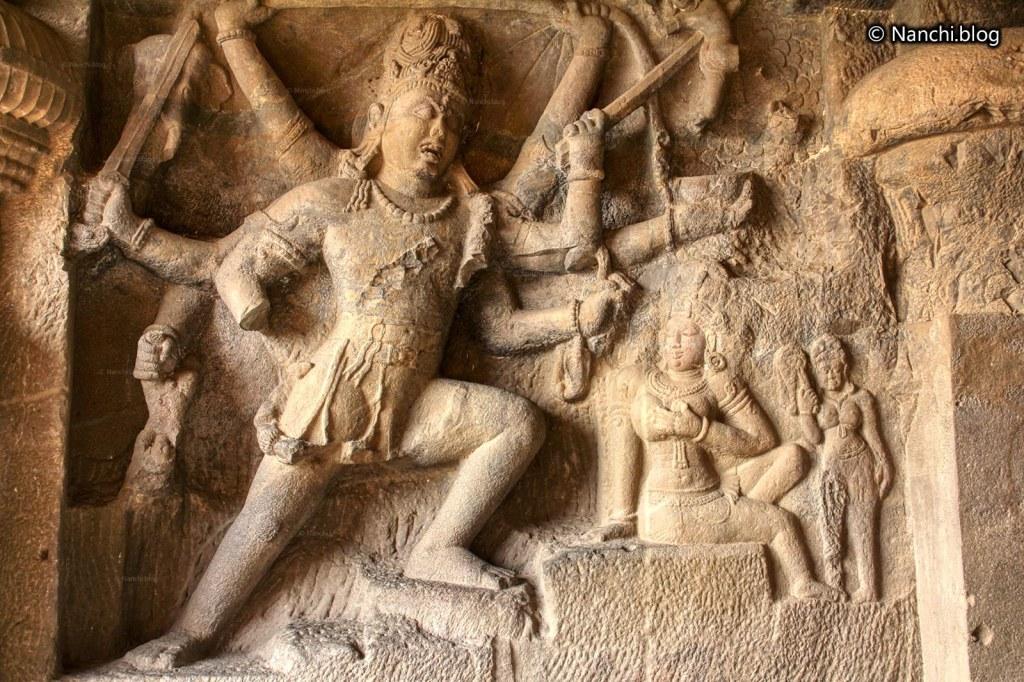 Andhakasuravadha, Cave no. 29, Dhumarlena, Ellora Caves, Aurangabad