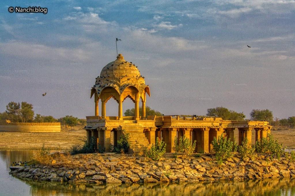 Gadisar Lake, Jaisalmer • Nanchi's Fun Facts Friday!