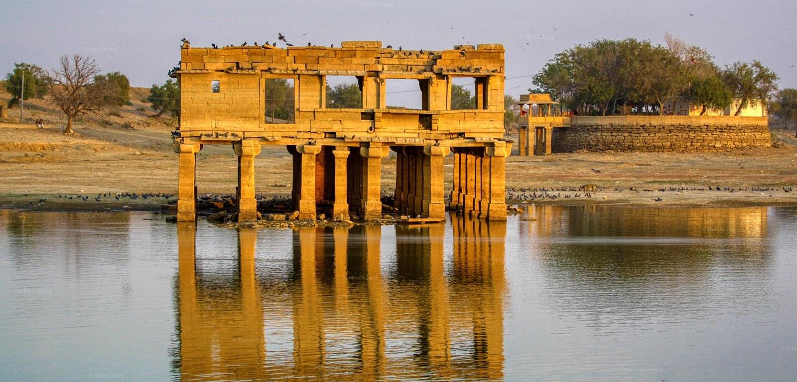 Old structure, Gadisar Lake, Jaisalmer • Nanchi's Fun Facts Friday!