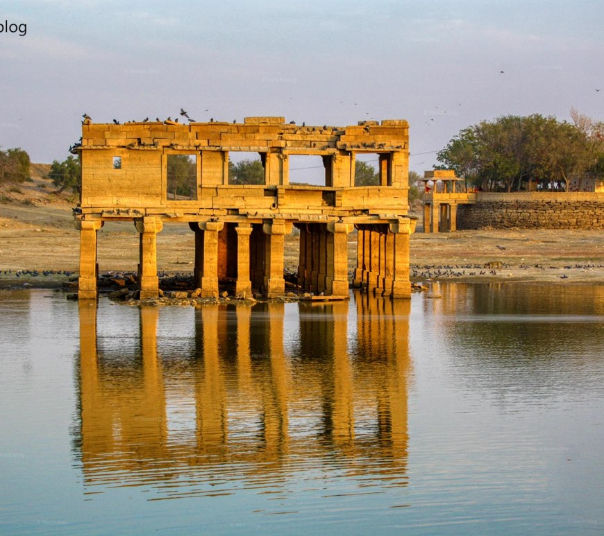 Old structure, Gadisar Lake, Jaisalmer • Nanchi's Fun Facts Friday!