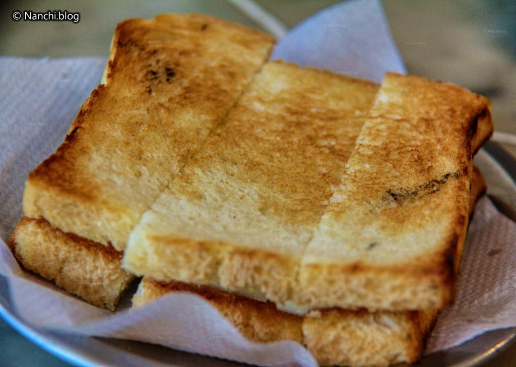 Toast Cheese Sandwich at Vohuman Cafe, Dhole Patil Road, Pune