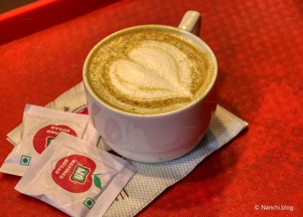 Cappuccino, Sarafa Bazar, Indore
