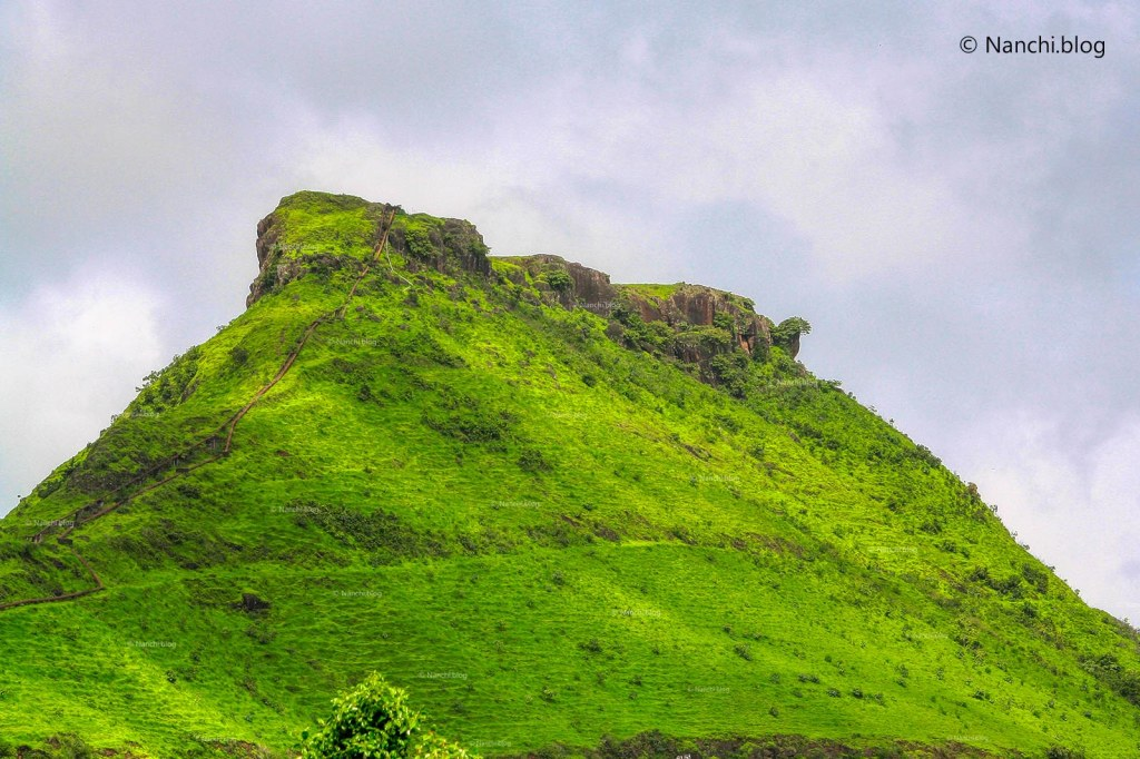 Hill on the way to Kaas Plateau, Satara, Maharashtra